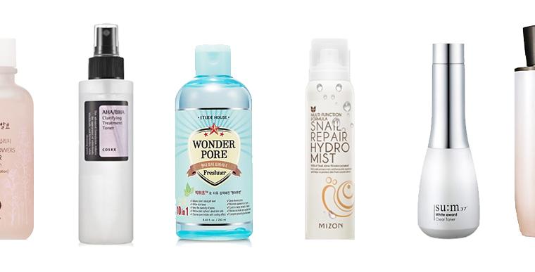 meilleurs-toniques-visage-coreens-hydratants-exfoliants-anti-imperfections