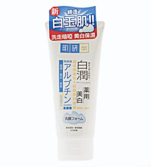hadalabo-shirojyun-brightening-face-wash