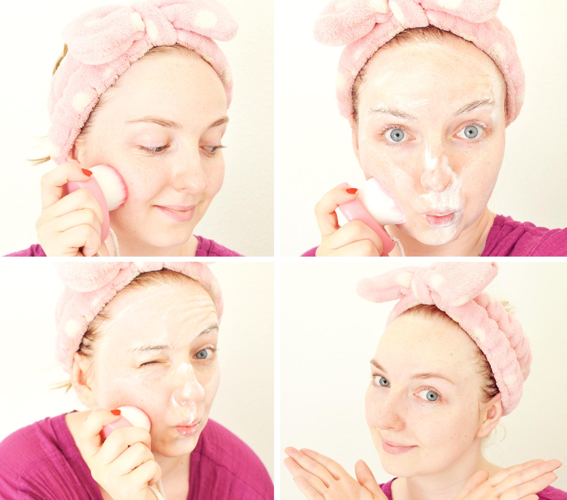 brosse-nettoyante-visage-coc-peach-avant-apres