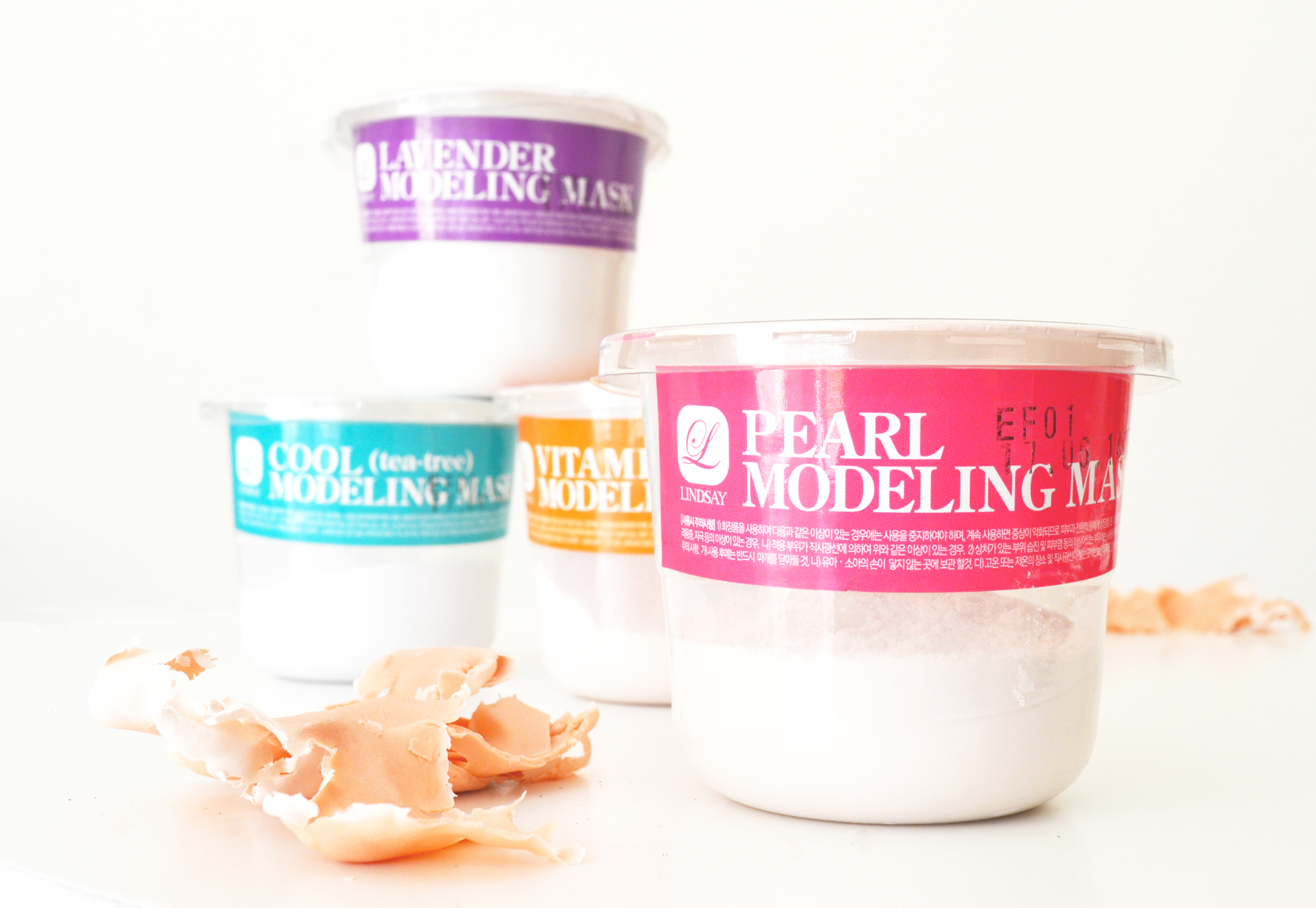 lindsay-korean-modeling-mask-pearl-lavender-vitamin-c-tea-tree-review