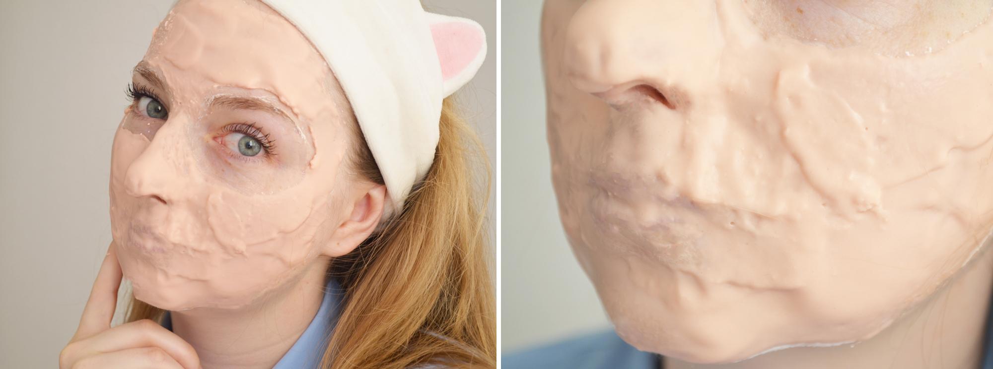 rubber-mask-lindsay-pearl-modeling-mask-revue