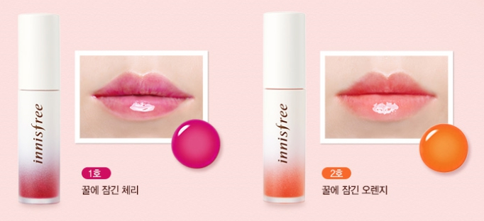 innisfree-treatment-lip-tint-cherry-orange-in-honey-testerkorea