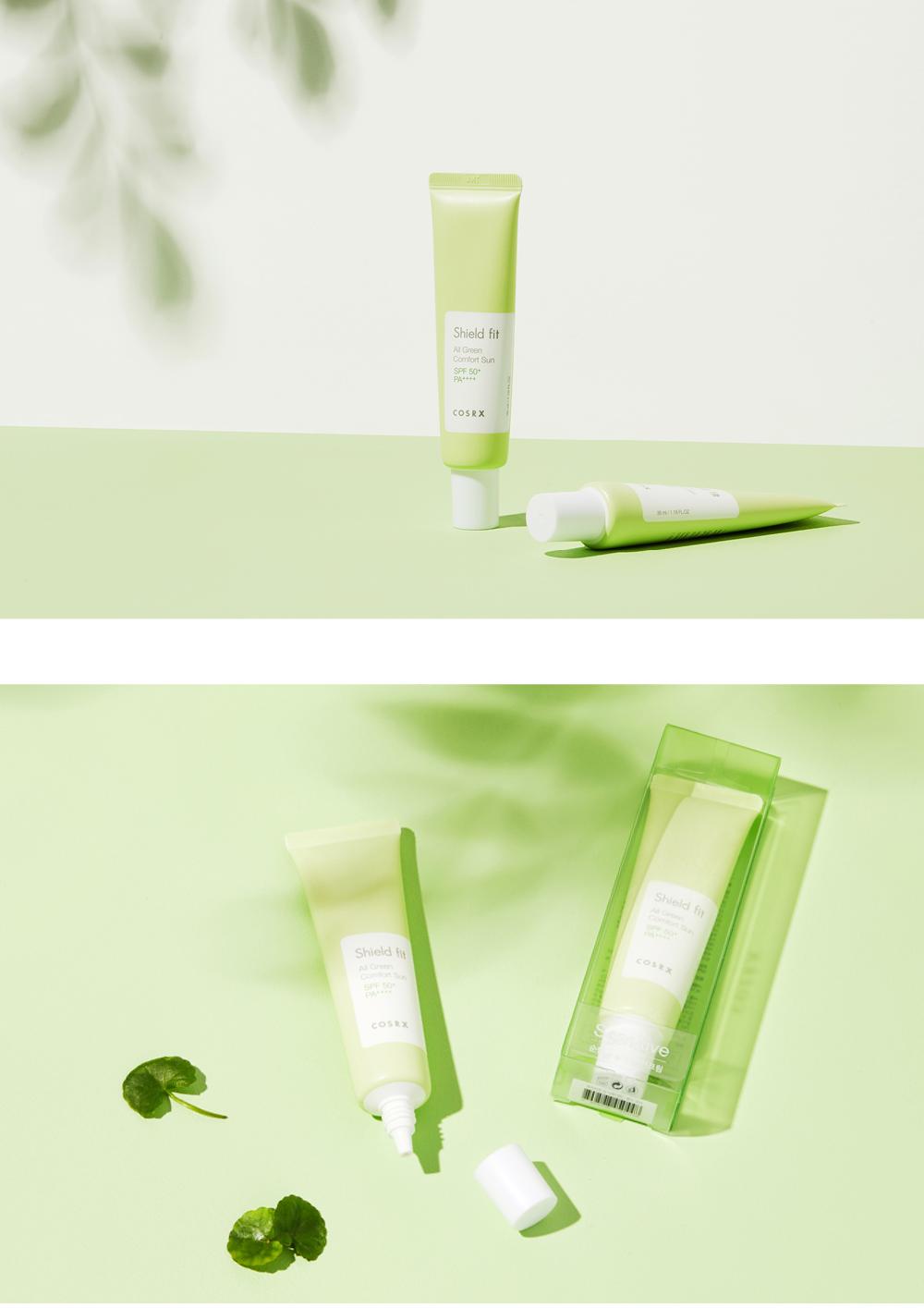 Cosrx-Shield-Fit-All-Green-Comfort-Suncream