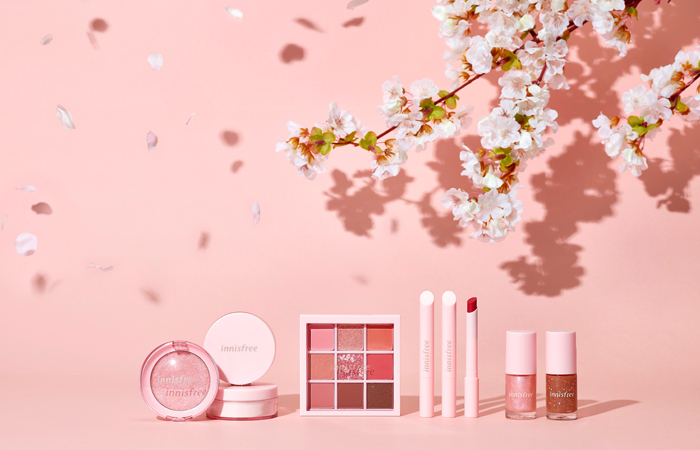 innisfree color picker cherry blossom spring collection
