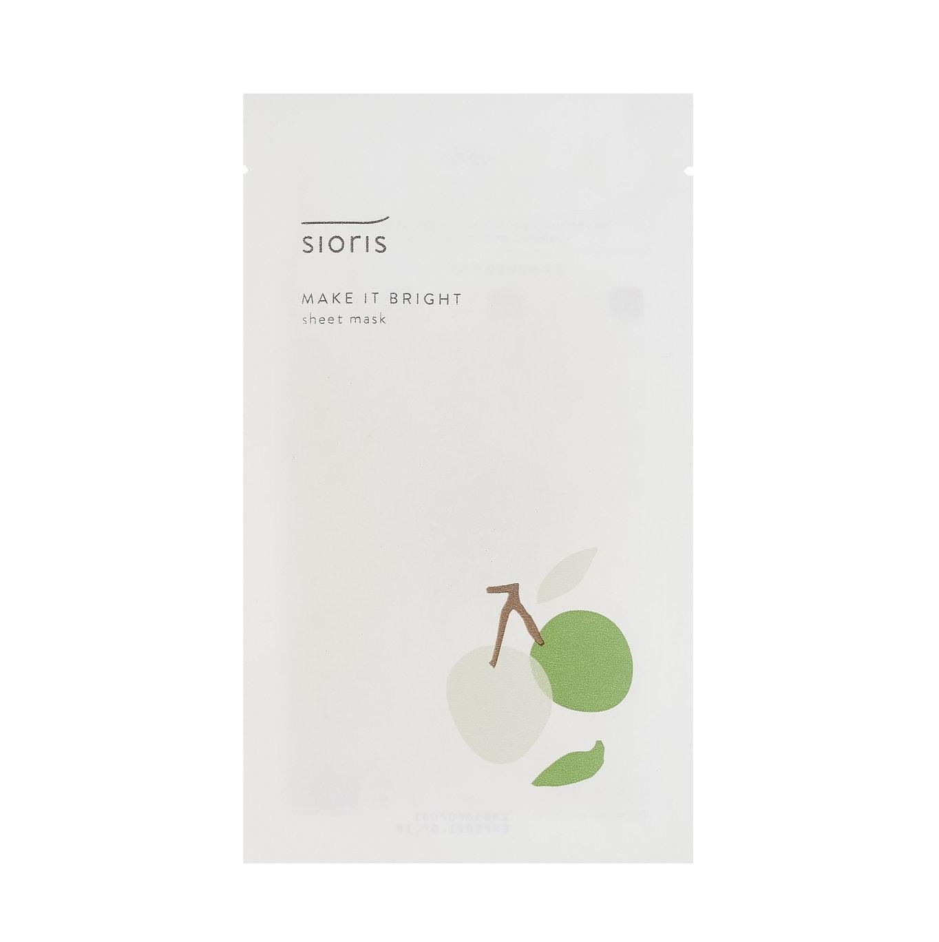 SIORIS-make-it-bright-sheet-mask-avis-review-masque-tissu-coreen-clean