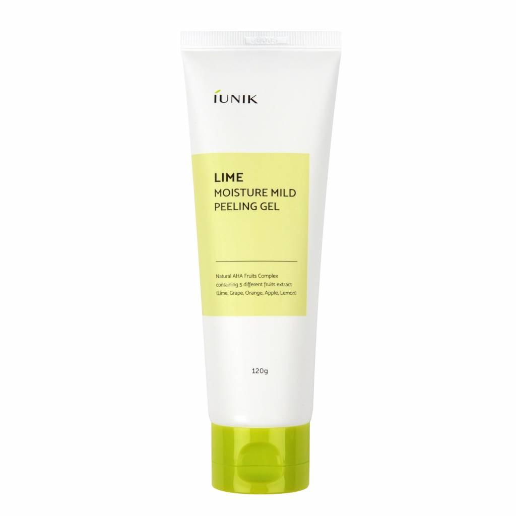 iunik-Lime-Moisture-Mild-Peeling-Gel-avis-exfoliant-coreen-naturel