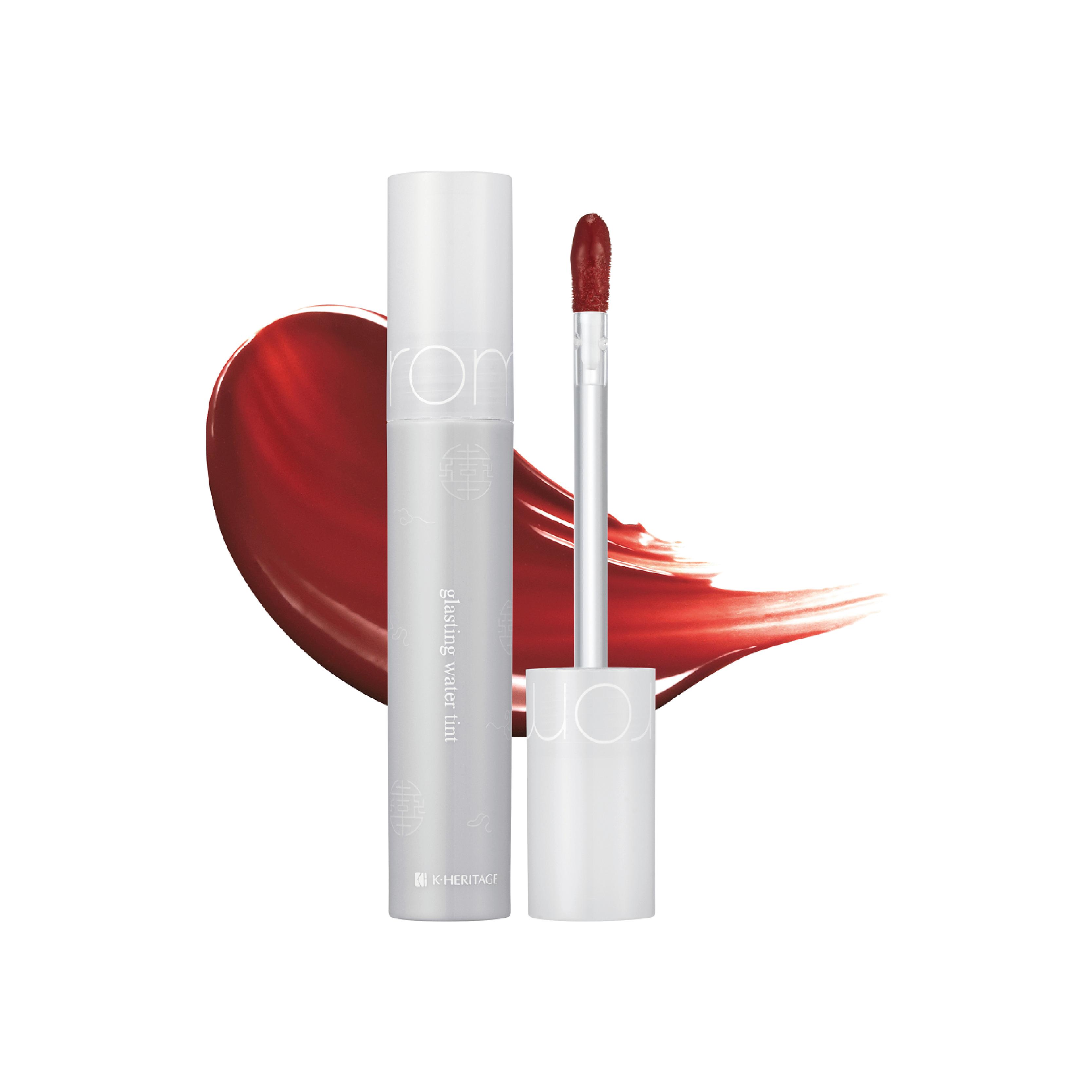 romand-lip-glasting-water-tint-omija-red-review